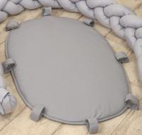 Letti -reunapehmusteen unipesäpohja, Pure Grey