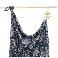 Bambu-kapalo / harso, Secret Garden, 100% bambu, 100 x 75cm - toimitus 28.9.2021