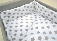 Reunapehmuste, Eimi, valkoinen - harmaa tähti 1. - 360cm