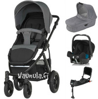 Britax Smile 2 - Travel System - Baby-Safe SHR 2 Plus + suojat + tarvike