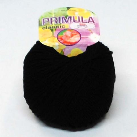 Adriafil Primula -merinovilla, musta