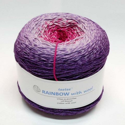 teetee Rainbow with wool