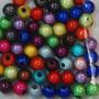 Heijastavat helmet 6 mm, 7 g = n. 50 kpl, multicolor