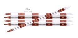 KnitPro SmartStix sukkapuikot, 20 cm, 2.5 - 4.5 mm, alumiini