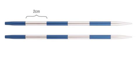 KnitPro SmartStix pyöröpuikkokärjet, 3.0 - 5.0 mm, alumiini