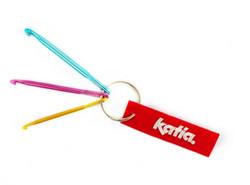 Katia avaimenperä virkkuukoukuilla
