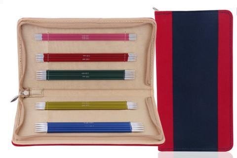 KnitPro Zing sukkapuikkosetti, 15 cm, 2.0 - 4.0 mm