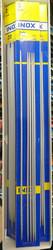 Inox sukkapuikot, alumiini, 20 cm, 2.0 mm