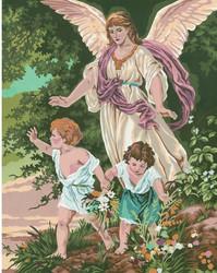Collection d' Art Suojelusenkeli, kanavatyöpaketti, 40 x 50 cm