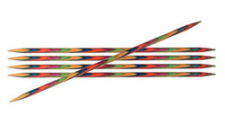 KnitPro Symfonie sukkapuikot, 15 cm, 2.5 - 4.0 mm