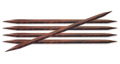 KnitPro Cubics neliskanttiset sukkapuikot, 20 cm, 3.0 - 6.0 mm