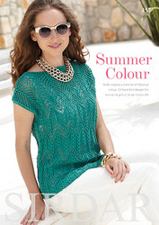 Sirdar Summer Colour Book 457 -lehti