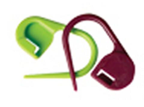 KnitPro Lukollinen silmukkamerkki / hakaneula, 30 kpl
