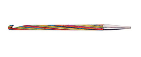 KnitPro Symfonie virkkuukoukku- / koukkuamiskoukkupää, 4 mm
