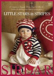 Sirdar Baby Bamboo 355: Little Stars in Stripes -lehti