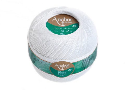 Anchor Artiste Mercer Crochet 20-40-60