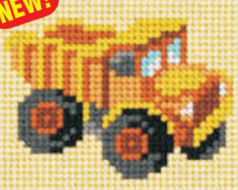 lasten-kanavatyo-kirjontatyo-kuorma-auto