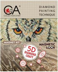 CdA Timanttimaalaus -magneetti, pöllö