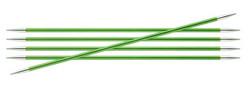 KnitPro Zing sukkapuikot, 20 cm, 2,50 - 6.0 mm, alumiini