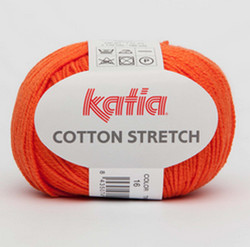 Katia Cotton Stretch - joustava puuvillasukkalanka