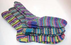 Gründl Hot Socks Rubin 4-ply bambusukkalanka