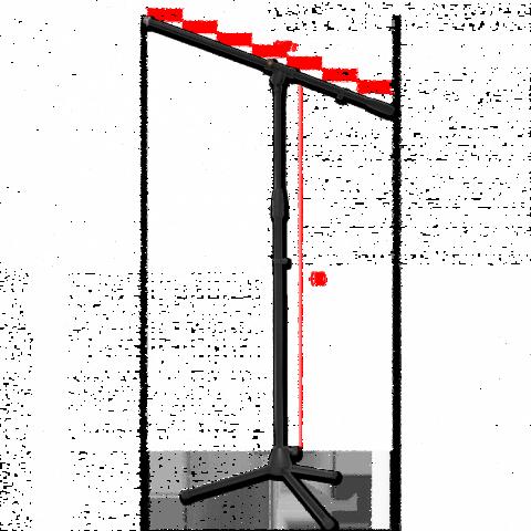 Mikrofoniteline puomi Bespeco SH13NE
