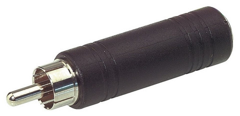 Jakki 6,5mm - rca uros Alpha Audio