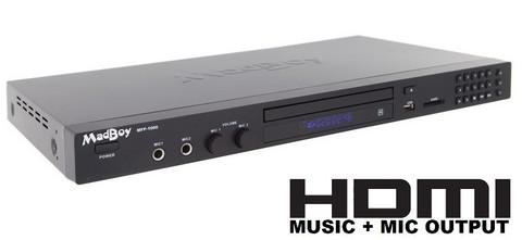 Karaoke dvd soitin Madboy MFP-1000X (HDMI)