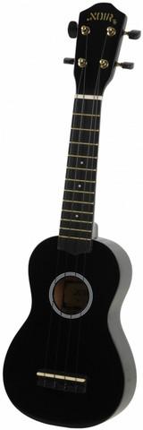 Ukulele sopraano Noir NU-1S, musta (sis. pussi)