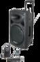 PA-kaiutin akkukäyttöinen aktiivi, bluetooth, mikseri Ibiza Sound Port 15, 800W