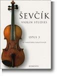 Viulukoulu Sevcik OP3 Violin 40 variations
