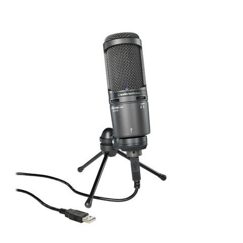 Podcast-/striimausmikrofoni Audio-Techinca At2020usb+