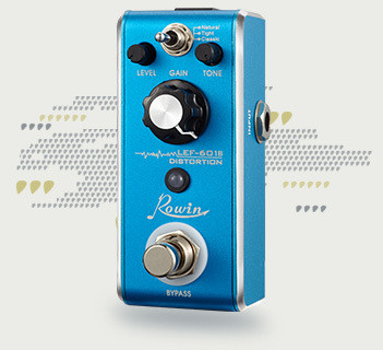 Säröpedaali Rowin Distortion Lef-601B