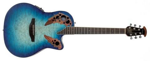 Elektro-akustinen kitara Ovation Celebrity Elite Plus CE48P-RG