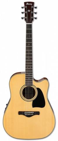 Elektro-akustinen kitara Ibanez AW70ECD NT