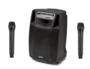 PA-kaiutin akkukäyttöinen aktiivi, bluetooth mikseri Audio Design M215WL, 750W