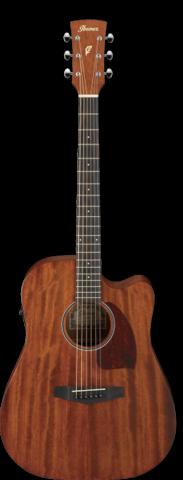 Elektro-akustinen kitara Ibanez PF12MHCE-OPN