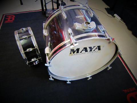Myydään asiakkaan lukuun Irtorummut Maya 22