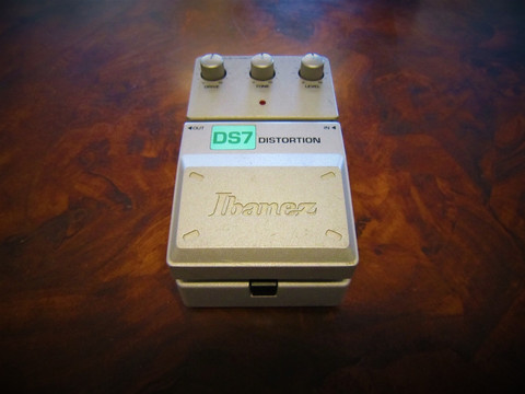 Säröpedaali Ibanez DS7 Distortion (käyt)
