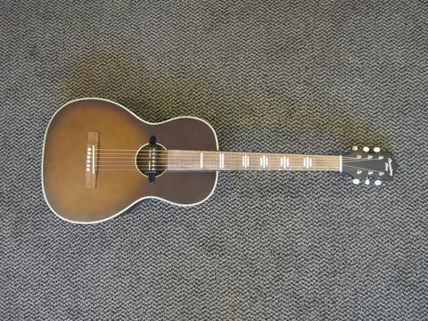 Myydään asiakkaan lukuun Elektro-akustinen kitara Recording King (käyt)