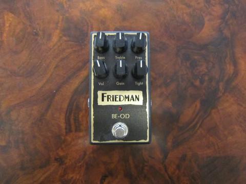 Myydään asiakkaan lukuun Säröpedaali Friedman BE-OD (käyt)