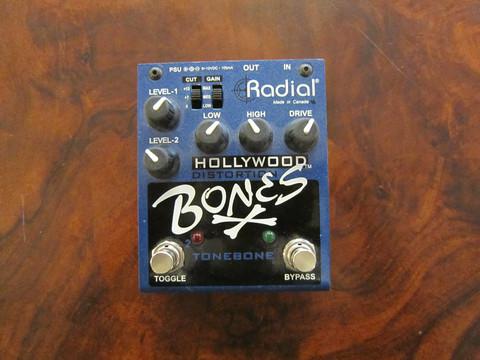 Myydään asiakkaan lukuun Säröpedaali Radial Hollywood Bones (käyt)