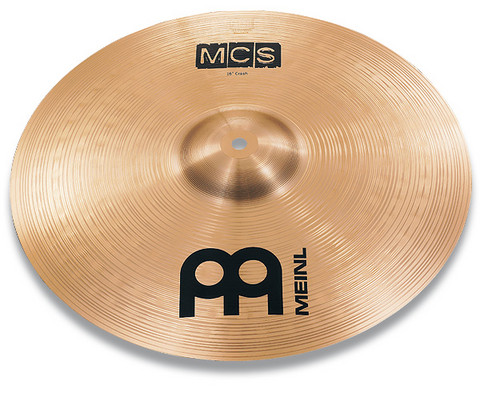Crash-symbaali 16' Meinl MCS Medium