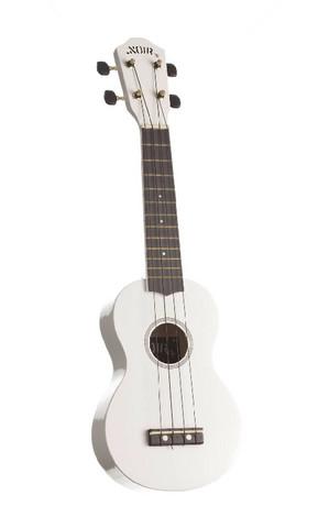 Ukulele sopraano Noir NU-1S, valkoinen (sis. pussi)