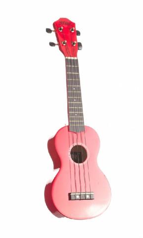 Ukulele sopraano Noir NU-1S, punainen (sis. pussi)