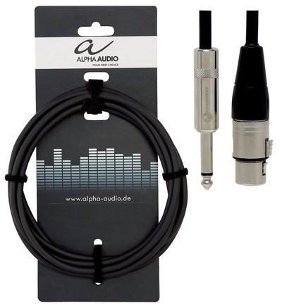 Mikrofonijohto xlr/plugi 9m Alpha Audio Pro Line