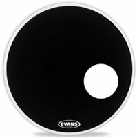 Bassorummun etukalvo Evans 20' EQ3 Resonant Bass Drum BK, BD20RB