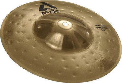 Paiste 12' Alpha metal brilliant Splash