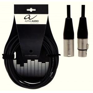 Mikrofonijohto xlr/xlr 3m Alpha Audio Pro Line