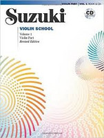 Viulukoulu Suzuki violin school volume 1 Revised Edition
